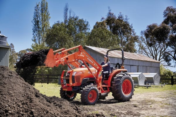 Kubota L Series with Bucket