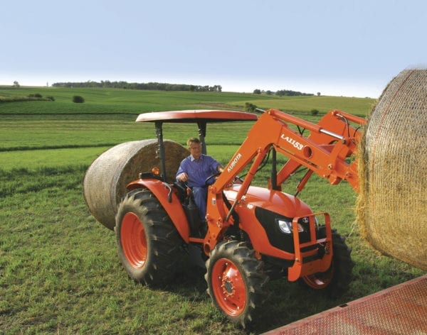 Kubota M Series Bail Stacking