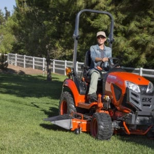 Kubota BX Series Mowing
