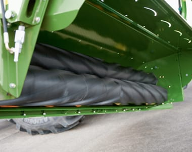Krone Mower Close-up