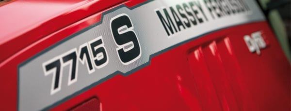 Massey Fergusson 7715 S Model close-up